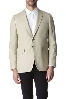 PS BY PAUL SMITH Single-breasted linen blazer