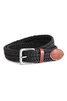 PAUL SMITH ACCESSORIES Waxed webbing belt