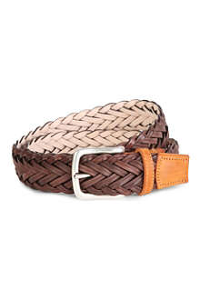 PAUL SMITH ACCESSORIES Plait belt
