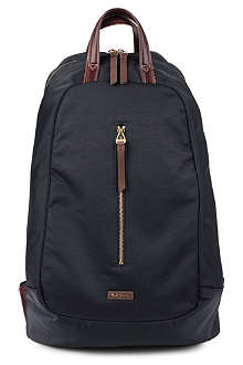 PAUL SMITH ACCESSORIES Leather trimmed backpack