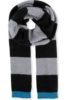 PAUL SMITH ACCESSORIES Simple Simon striped scarf