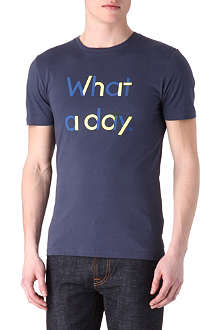 PAUL SMITH JEANS What a Day t-shirt