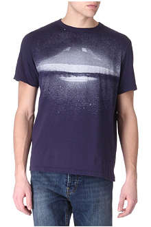 PAUL SMITH JEANS UFO-print t-shirt