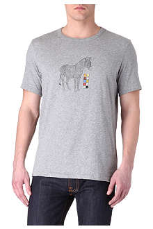PAUL SMITH JEANS Zebra Paint By Numbers t-shirt