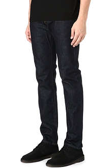 PAUL SMITH JEANS Regular-fit tapered selvedge jeans