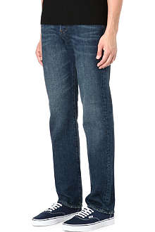 PAUL SMITH JEANS Standard regular-fit dirty wash straight jeans
