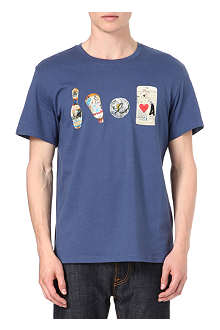PAUL SMITH JEANS Graffiti items t-shirt