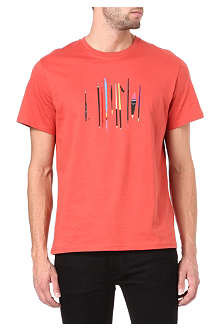 PAUL SMITH JEANS Fishing items t-shirt