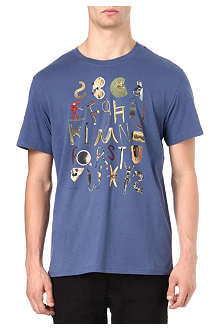 PAUL SMITH JEANS Alphabet t-shirt