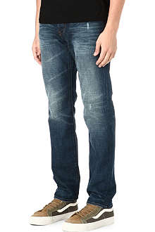 PAUL SMITH JEANS Antique wash classic-fit tapered jeans