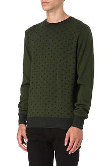 PAUL SMITH JEANS Polka dot jumper