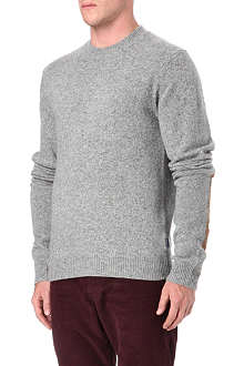 PAUL SMITH JEANS Speckled crew-neck jumper
