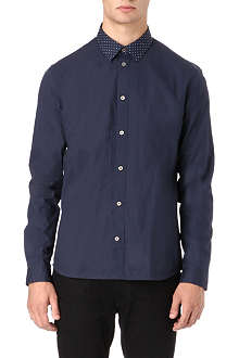 PAUL SMITH JEANS Spot collar shirt