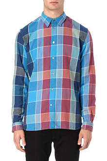 PAUL SMITH JEANS Check flannel cotton shirt