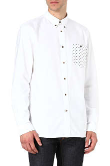PAUL SMITH JEANS Polka dot pocket oxford shirt