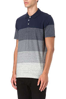 PAUL SMITH JEANS Gradient stripe polo shirt