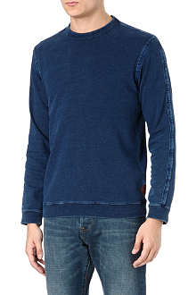 PAUL SMITH JEANS Rinsed denim sweatshirt