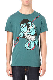 PAUL SMITH JEANS Mer monkey t-shirt