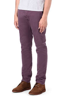 PAUL SMITH JEANS Slim-fit tapered chinos