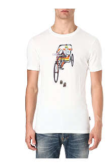 PAUL SMITH JEANS Rickshaw graphic t-shirt