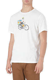 PAUL SMITH JEANS Man on bike t-shirt