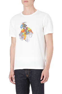 PAUL SMITH JEANS Loaded bike t-shirt