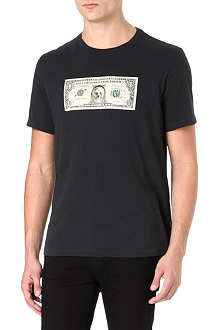 PAUL SMITH JEANS Dollar printed t-shirt