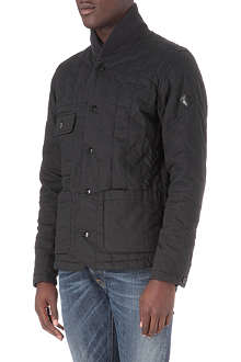 PAUL SMITH JEANS Shawl collar quilted jacket