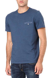 PAUL SMITH JEANS Fine stripe pocket t-shirt