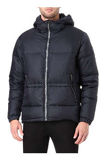 PAUL SMITH JEANS Hooded down jacket
