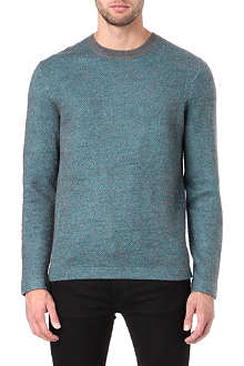 PAUL SMITH JEANS Diamond-patterned jumper