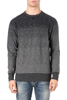 PAUL SMITH JEANS Graded colour crew sweatshirt