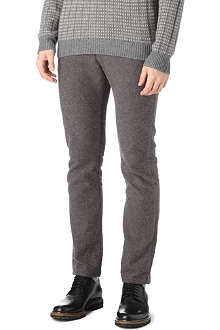 PAUL SMITH JEANS Pin-dot tapered trousers