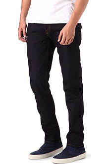 RED EAR Regular-fit tapered jeans