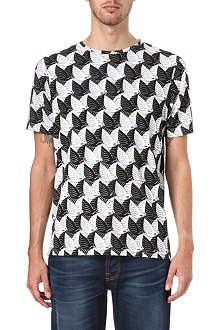 RED EAR Dove print t-shirt