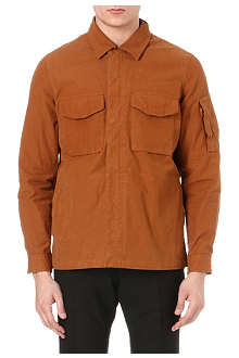 PAUL SMITH JEANS Washed canvas overshirt