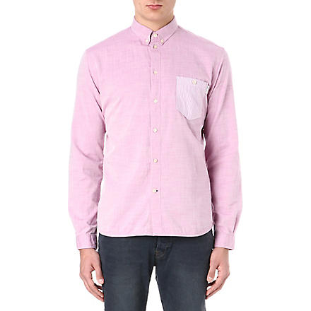 PAUL SMITH JEANS Striped pocket shirt (Pink