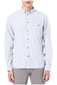 PAUL SMITH JEANS Striped cotton Oxford shirt