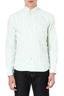 PAUL SMITH JEANS Ticking stripe cotton shirt