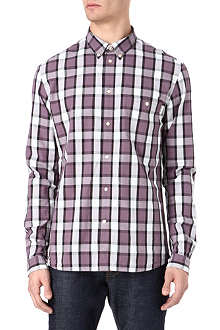 PAUL SMITH JEANS Check and dot jacquard shirt