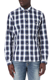 PAUL SMITH JEANS Checked polka-dot shirt