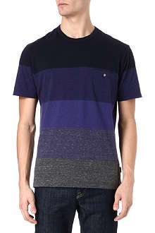 PAUL SMITH JEANS Block stripe t-shirt