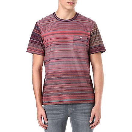 PAUL SMITH JEANS Slim stripe t-shirt (Pink