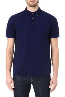 PAUL SMITH JEANS Plain marl polo shirt