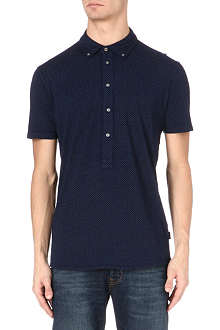 PAUL SMITH JEANS Jacquard polo shirt