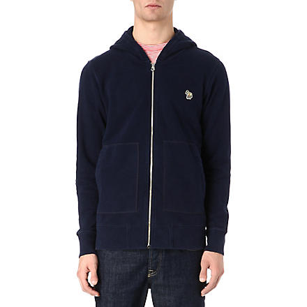 PAUL SMITH JEANS Zebra hoody (Navy