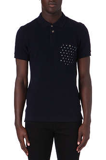 PAUL SMITH JEANS Spot pocket polo shirt