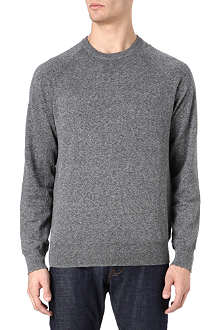 PAUL SMITH JEANS Mesh side knitted jumper