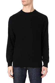 PAUL SMITH JEANS Mesh front knitted jumper
