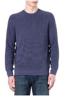PAUL SMITH JEANS Varied stripe knitted jumper